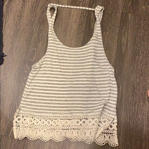 Others Follow Tank Top with Open Back